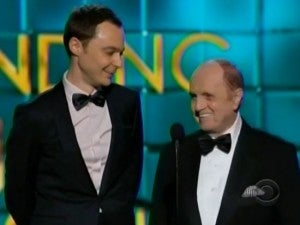 Bob Newhart gets standing ovation