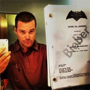 Chris O'Donnell Batman Vs. Superman