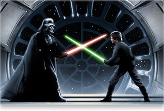Darth Vader & Luke Skywalker Rivalry Tops Batman & Joker Rivalry