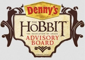 Denny's The Hobbit The Desolation of Smaug