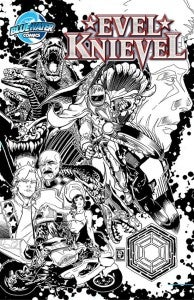 Evel Knievel Comic Book
