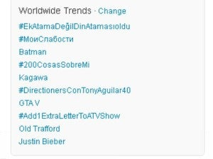 Justin Bieber Batman trends