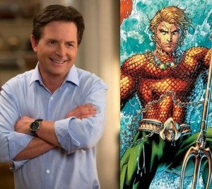 Michael J. Fox & Aquaman