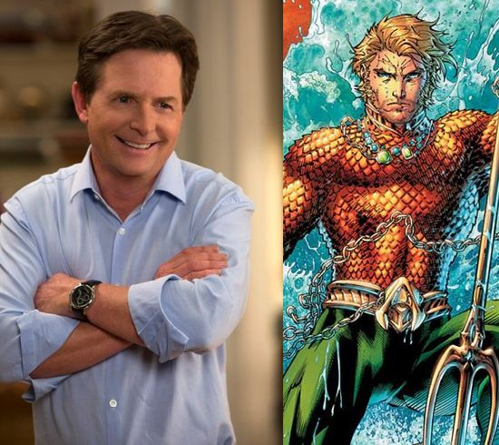 Is Michael J. Fox An Aquaman Fan?