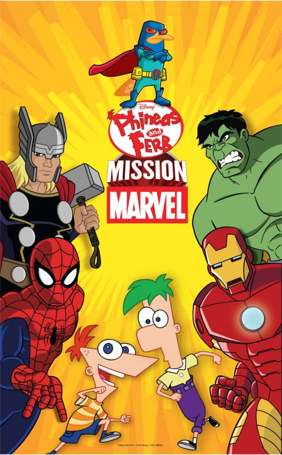 Phineas and Ferb Mission Marvel Poster