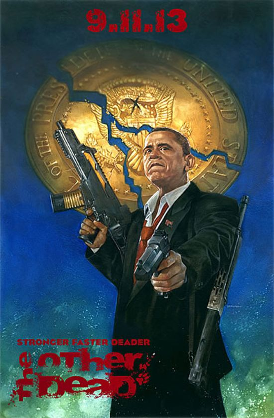 The Other Dead Barack Obama Variant Cover