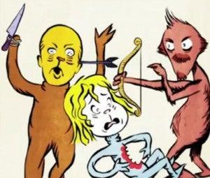 The Walking Dead Dr. Seuss