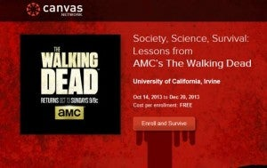 The Walking Dead Online Course
