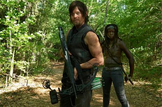 Walking Dead Season 4 Daryl & Michonne