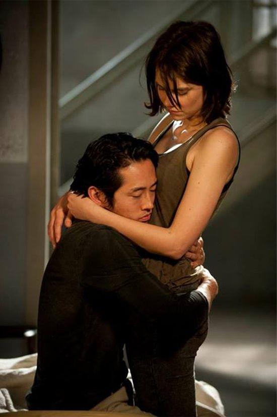 Glenn Rhee & Maggie Greene