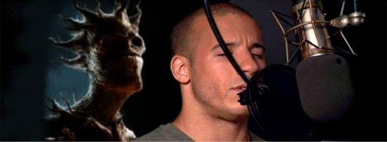 Vin Diesel voicing Groot