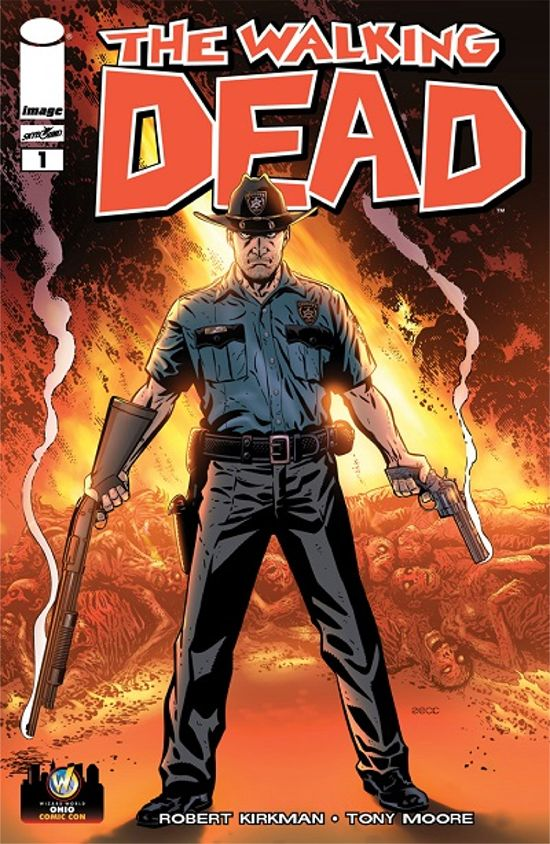 The Walking Dead #1 Mike Zeck Variant Cover