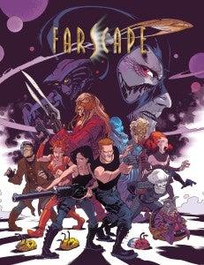 Farscape Mini Comic Cover