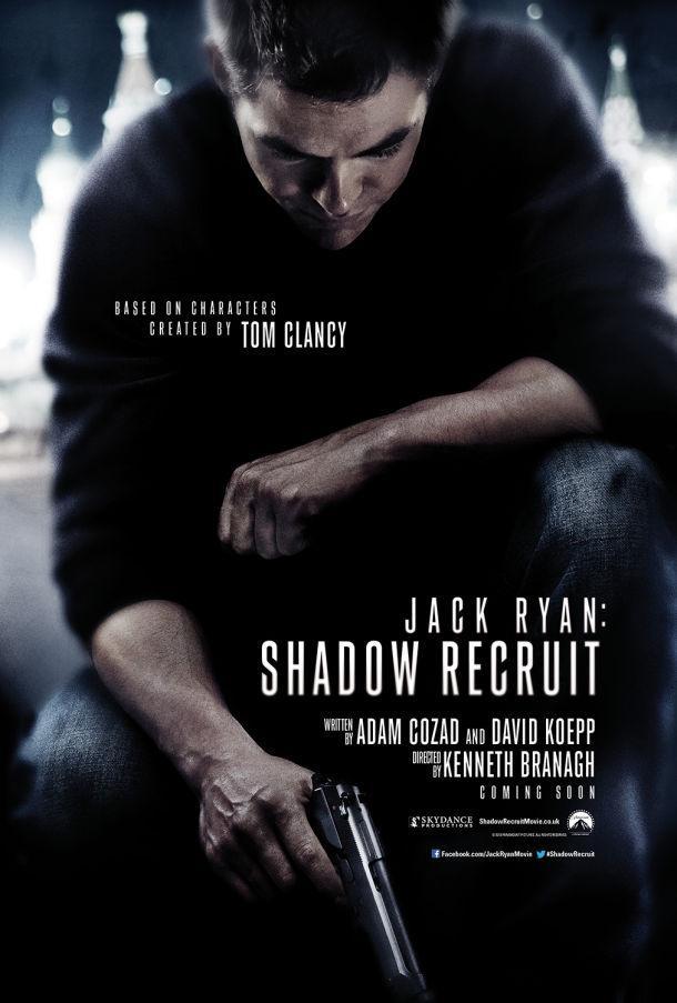 Jack Ryan: Shadow Recruit Poster Released Online