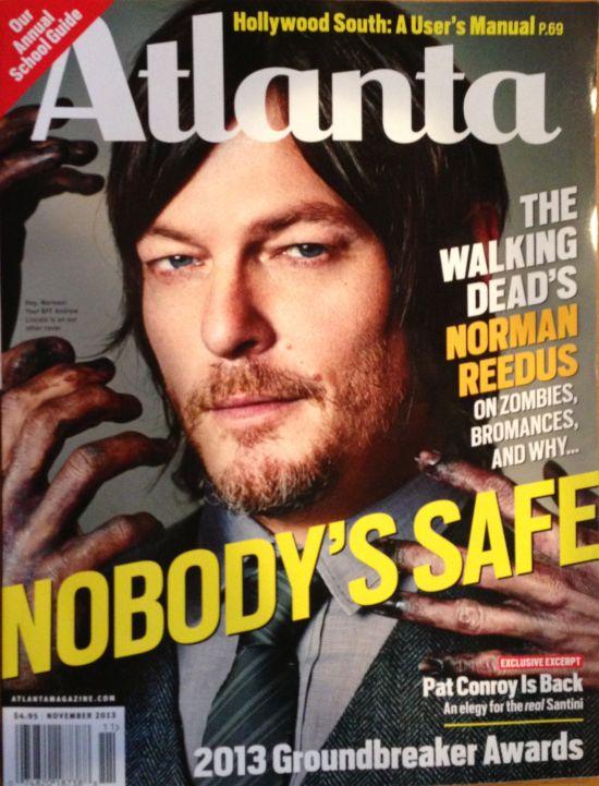 Atlanta Magazine Norman Reedus