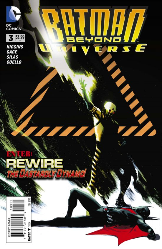 Batman Beyond #3 Cover