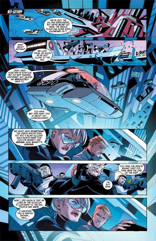 Batman Beyond #3 Page 1