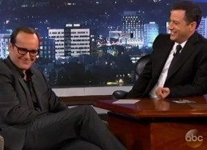 Clark Gregg & Jimmy Kimmel