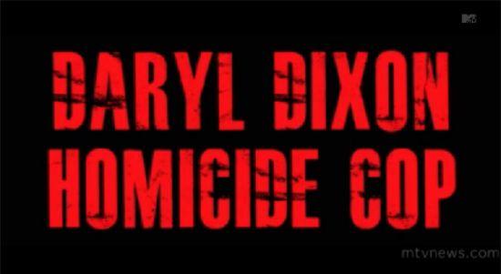 Daryl Dixon, Homicide Cop