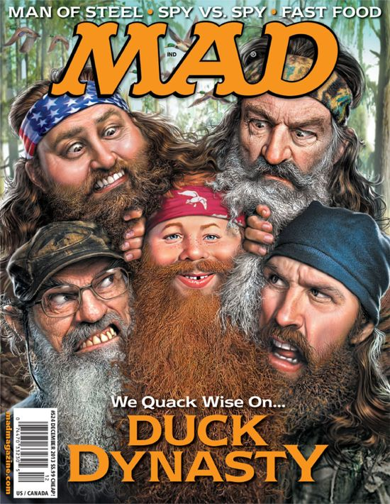 Duck Dynasty on Mad Magazine