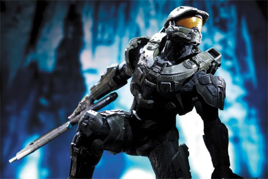 Halo 4 The Master Chief Resin Statue Announced By Mcfarlane