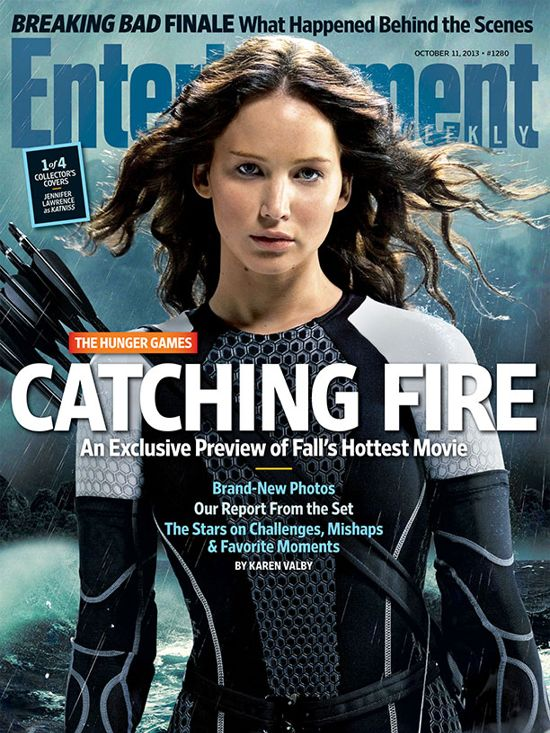 The Hunger Games Catching Fire EW Cover 1