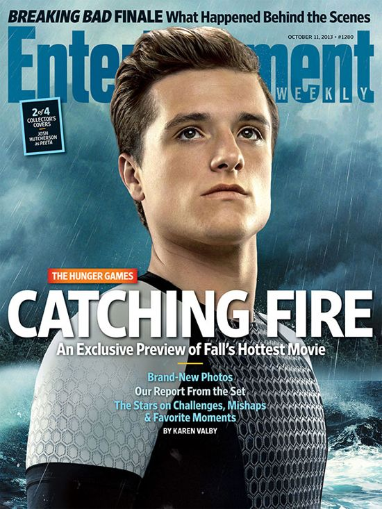 Hunger Games Catching Fire EW Cover 2