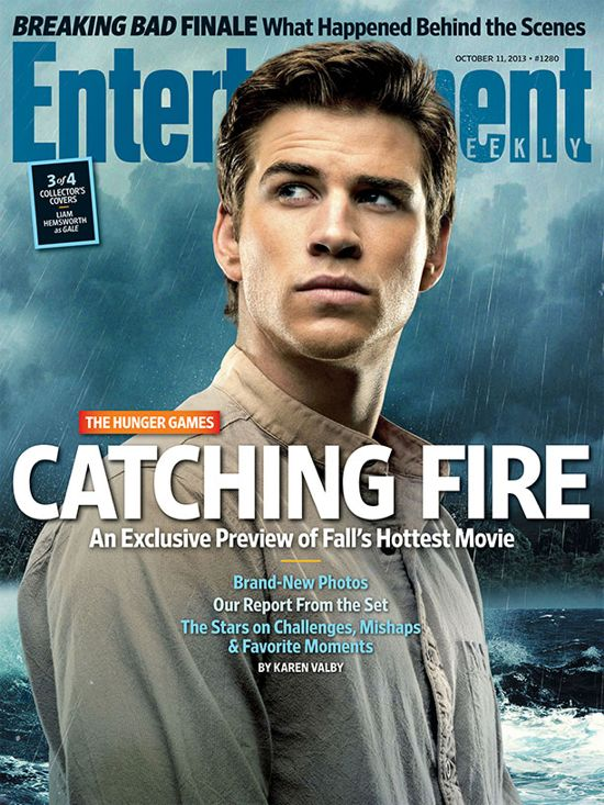 Hunger Games Catching Fire EW Cover 3