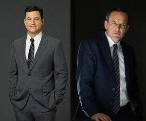 Jimmy Kimmel & Clark Gregg