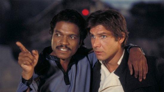 Lando Calrissian & Han Solo