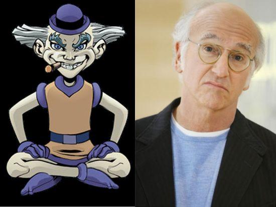 Larry David as Mr. Mxyzptlk