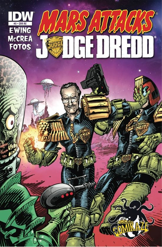 Judge Dredd Comic Book
