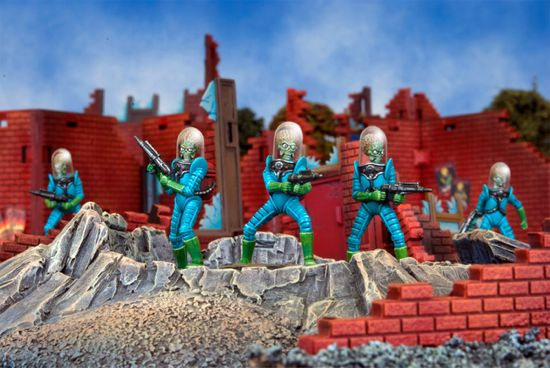 Mars Attacks Miniatures Game