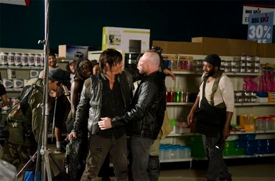 Michael Rooker The Walking Dead Season 4