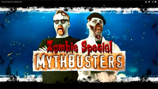 Mythbusters Zombie Special