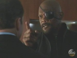 Nick Fury Agents Of SHIELD cameo