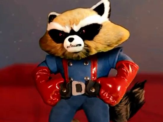 Rocket Raccoon video