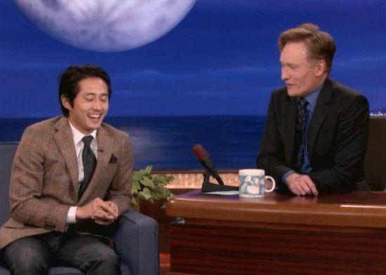 Steven Yeun & Conan O'Brien