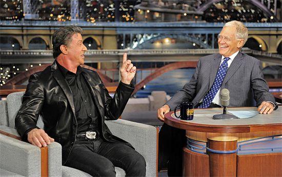 Sylvester Stallone & David Letterman