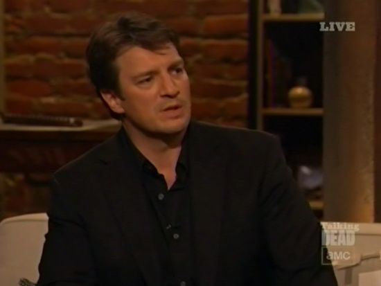 Talking Dead Nathan Fillion
