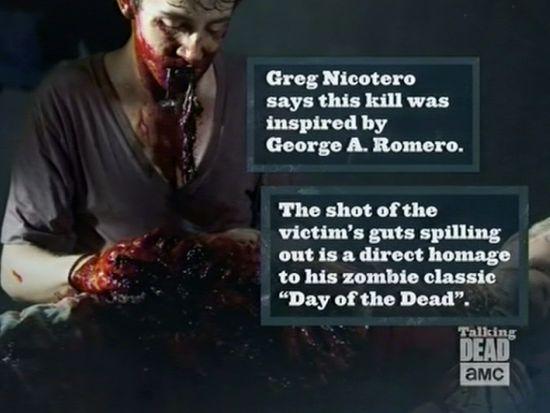 George A. Romero inspired scene