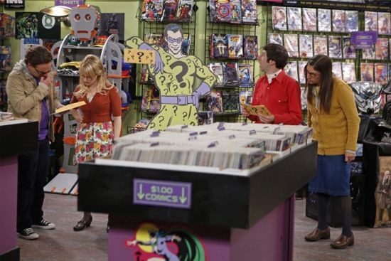 The Big Bang Theory The Scavenger Vortex