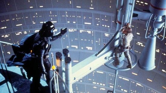 the empire strikes back star wars mark hamill darth vader