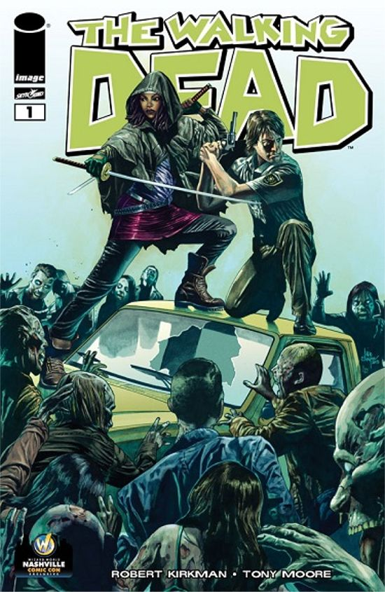 The Walking Dead #1 Mico Suayan Variant Cover