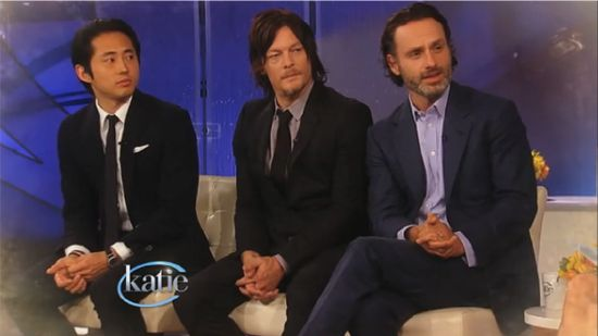 The Walking Dead katie Couric