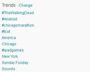 The Walking Dead Twitter Trends