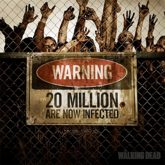 The Walking Dead 20 Million Facebook Fans