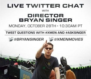 X-Men Days Of Future Past Director Bryan Singer
