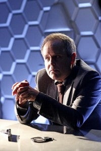 """MARVEL'S AGENTS OF S.H.I.E.L.D. - """"The Well""""- In the aftermath of the events chronicled in the feature film THOR: THE DARK WORLD, Coulson and The Agents of S.H.I.E.L.D. pick up the pieces -- one of which threatens to destroy a member of the team, on TUESDAY, NOVEMBER 19 (8:00-9:01 p.m., ET) on the ABC Television Network. (ABC/Danny Feld)PETER MACNICOL"""