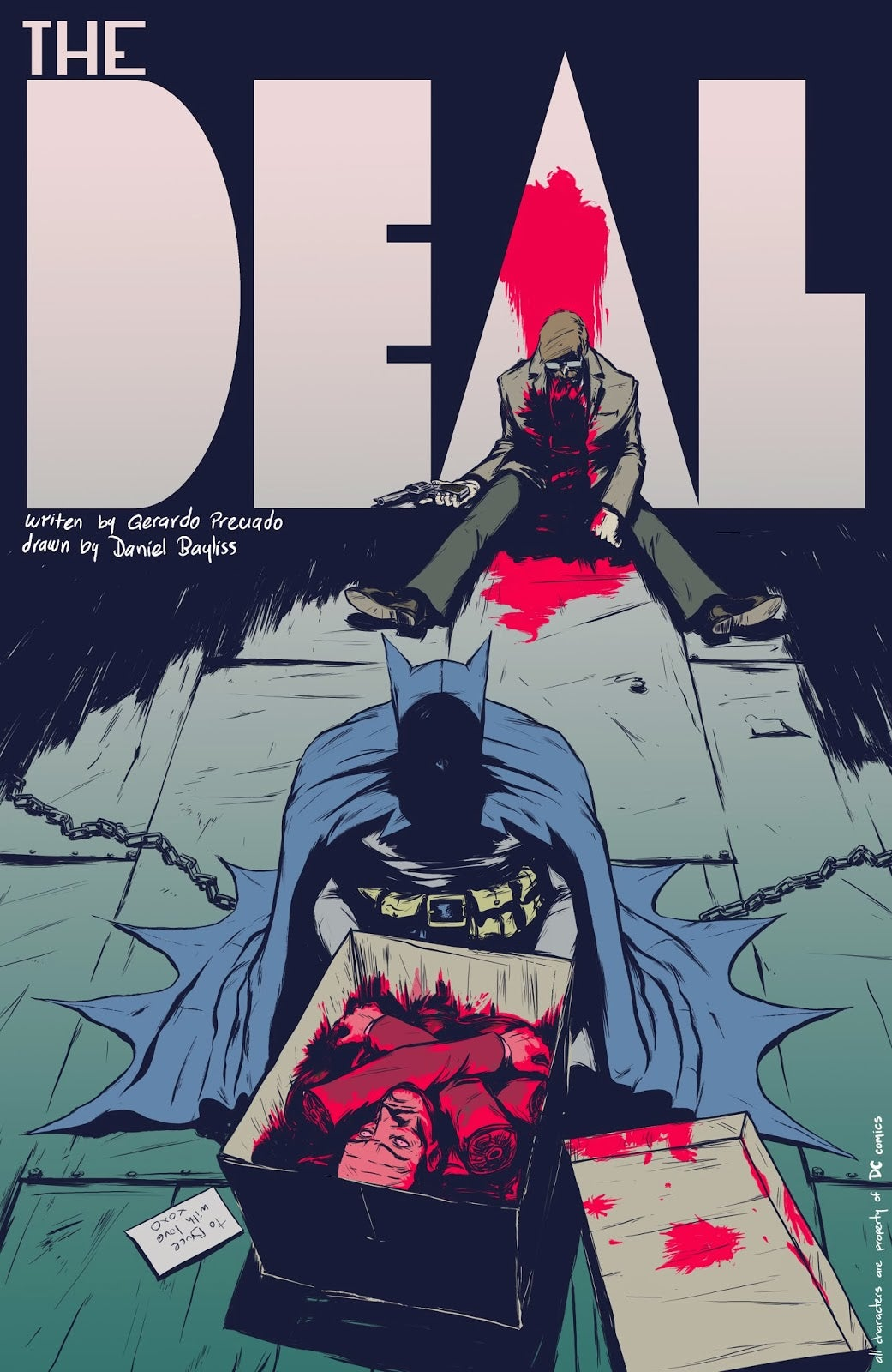 Batman: The Deal Creators Discuss Their Hugely Popular Fan